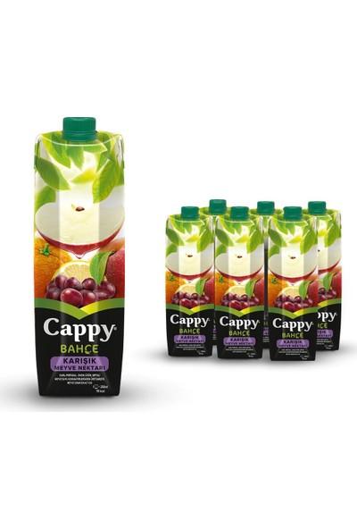 Cappy Karışık Pet 1 Lt 6'lı Paket