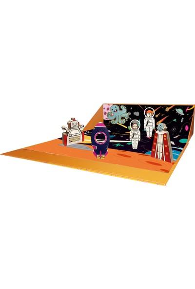 Alice & Grace Imaginory Seti Uzay Teması Ahşap Oyuncak