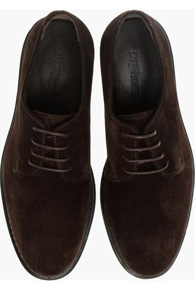 Divarese Erkek Süet Kahverengi Ayakkabı