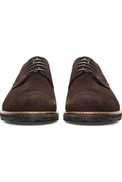 Divarese Erkek Kahverengi Süet Ayakkabı