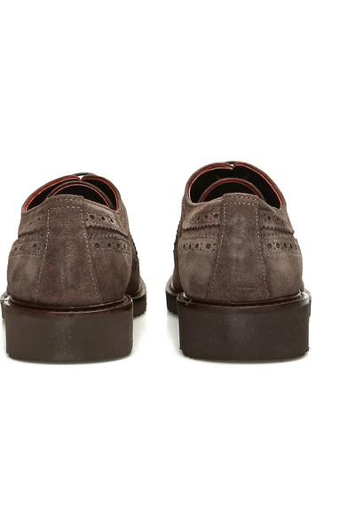 Divarese Erkek Zımbalı Vizon Süet Ayakkabı