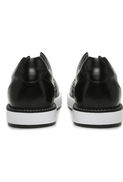 George Hogg Erkek Örgü Siyah Ayakkabı
