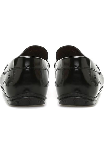 George Hogg Erkek Siyah Loafer