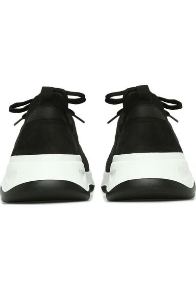 George Hogg Erkek Siyah Nubuk Sneaker