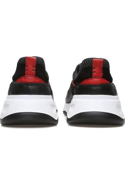 George Hogg Erkek Siyah Sneaker