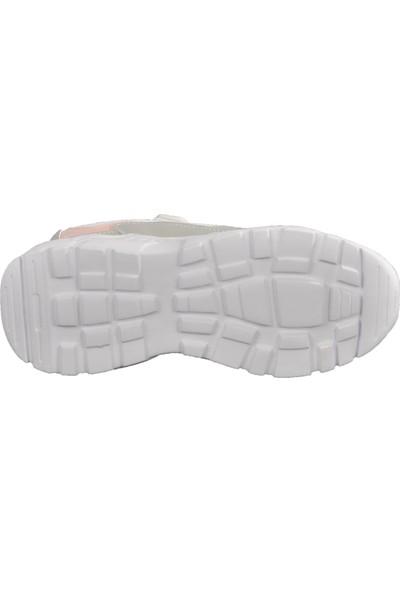 Cool 20-S06 Beyaz-Pembe Çocuk Spor Ayakkabı