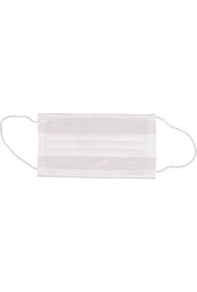 CRS 3 Katlı Cerrahi Maske Burun Telli Sertifikalı Full Ultrasonic 50 Adet - 2 'li kutu