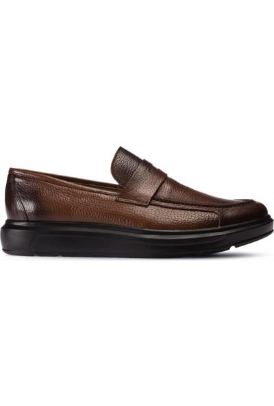 Deery Deri Kahverengi Erkek Loafer