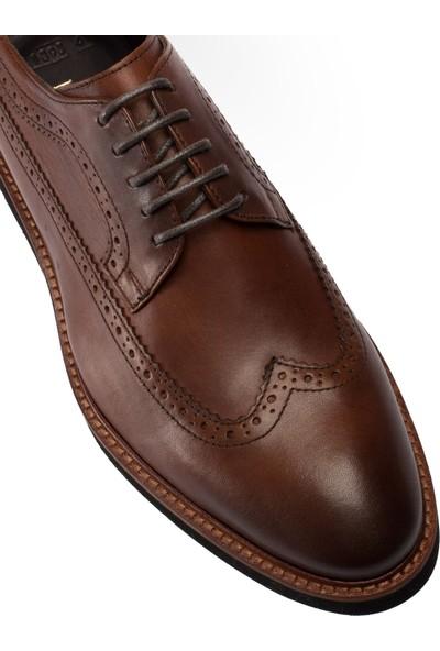 Deery Deri Kahverengi Günlük Erkek Ayakkabı