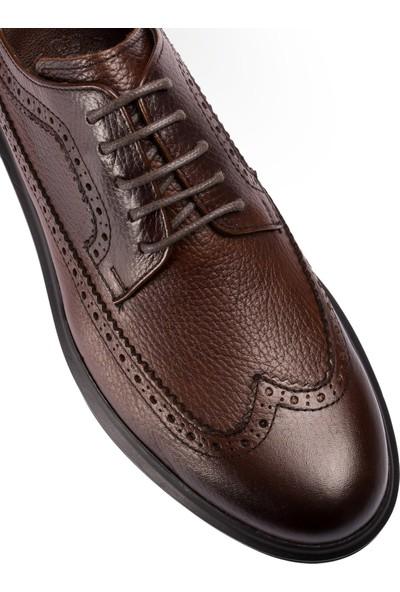 Deery Deri Kahverengi Comfort Günlük Erkek Ayakkabı