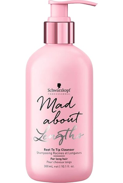 Schwarzkopf Mad About Lengths Root To Tip Cleanser Şampuan 300 ml