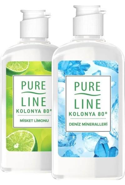 Pure Line Misket Limonu 250 ml + Deniz Mineralleri Kolonya 250 ml