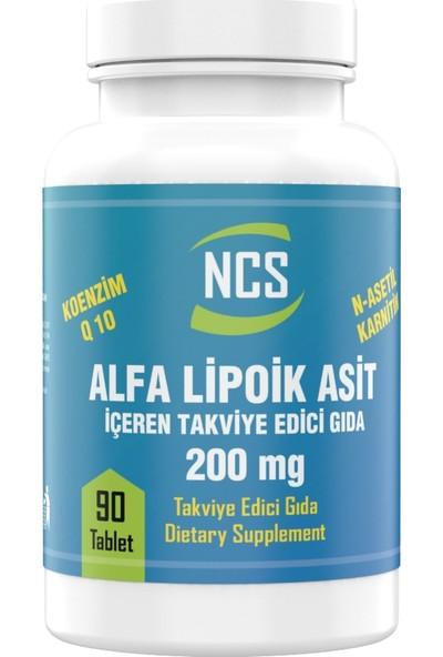 Ncs Alpha Lipoic Acid 200 mg Coenzyme Q10 100 mg L-Carnitine 100 mg 90 Tablet Koenzim Q10