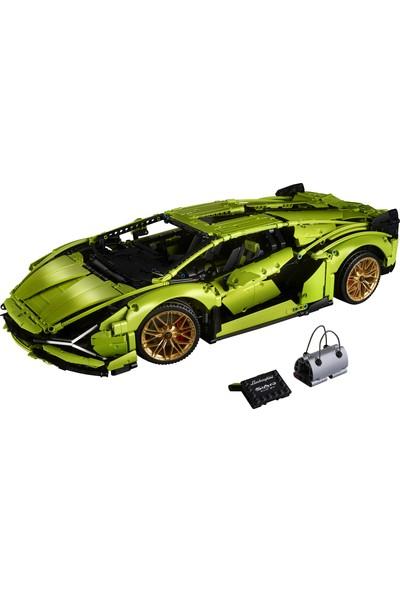 LEGO® Technic 42115 Lamborghini Sián FKP 37 Yapım Seti (3696 Parça) - Çocuk ve Yetişkin için Koleksiyonluk Oyuncak Araba