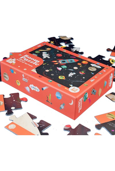 Kidmosfer Boom Puzzle - Space (Search And Find Puzzle)