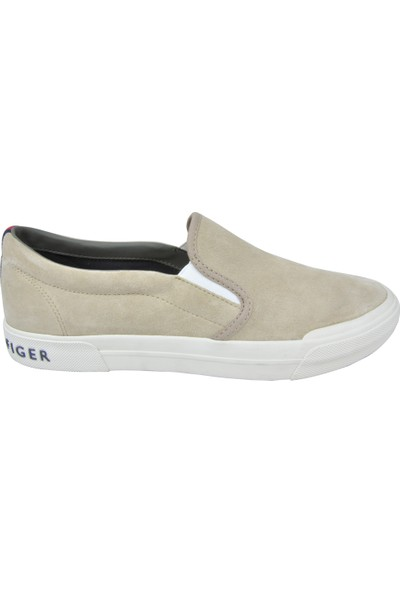 Tommy Hilfiger Erkek Sneakers Ayakkabi U002945 - Krem