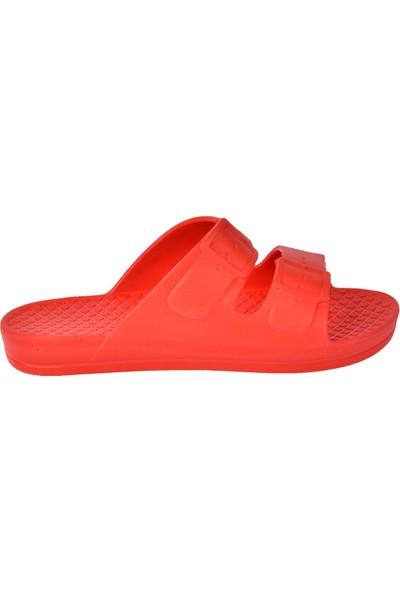 Ayakland Akn E251.Z.000 Eva Plaj Havuz Kadın Terlik Kırmızı