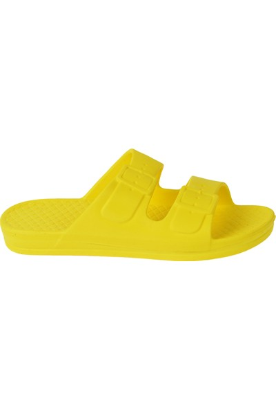 Ayakland Akn E251.Z.000 Eva Plaj Havuz Kadın Terlik Sarı