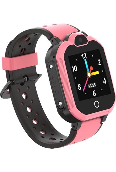 Smartbell Q600/2020(Görüntülü Konuşma) Akıllı Çocuk Saati Pembe