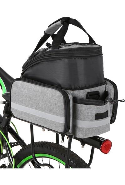 Lixada Bisiklet Arka Koltuk Çanta İşlevli Genişletilebilir