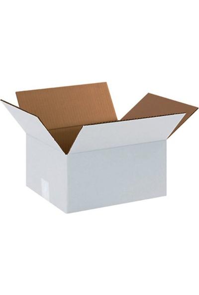 Unipak Beyaz Renk Çift Oluklu A-Box Koli 60 x 40 x 40 cm 10'lu