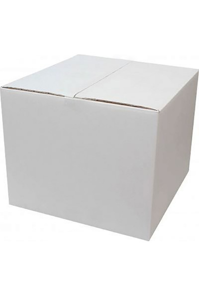 Unipak Beyaz Renk Tek Oluklu A-Box Koli 35 x 35 x 35 cm 10'lu