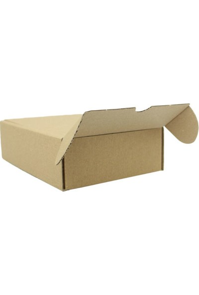 Unipak Kraft Küçük Ürün Kozmetik Ilaç Kutusu 11 x 11 x 3,5 cm 50'li