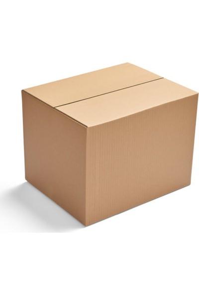 Unipak Kraft Renk Tek Oluklu A-Box Koli 20 x 20 x 20 cm 10'lu
