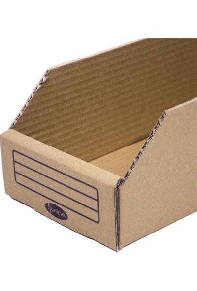Unipak Vida Kutusu 32,8 x 14,5 x 10,7 cm 5 Litre Taşıma Kapasiteli 10'lu