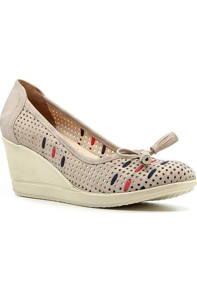 Ayakdaş Kadın Dolgu Topuk Ayakkabı 20Y 5242-854 Z