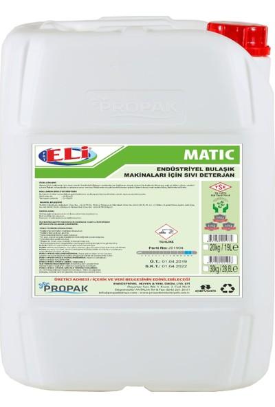 Eli Endüstriyel Bulaşık Sıvı Makina Deterjanı 20 kg