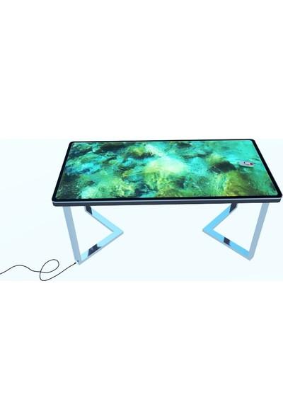 Artila Taşlı Kıyı 90 x 180 cm Yemek Masaı