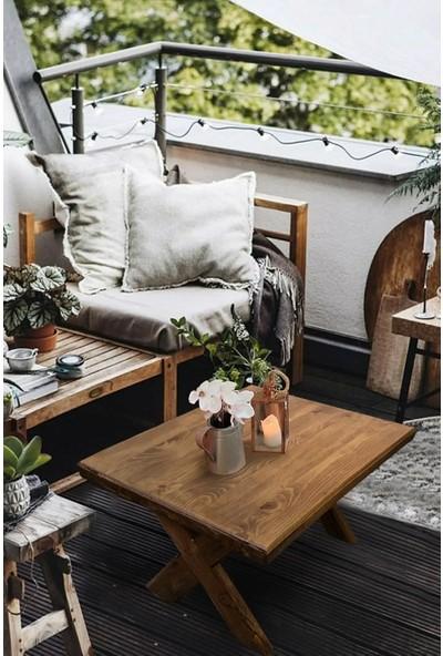 Grootland Ahşap Bahçe Masası Ahşap