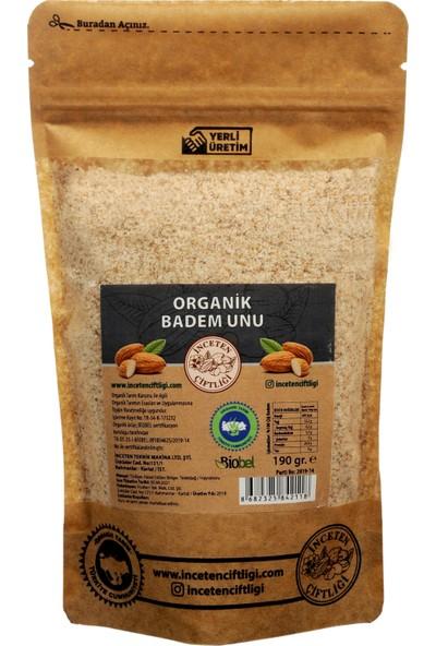 İnceten Çiftliği Organik Sertifikalı Badem Unu - 190 gr