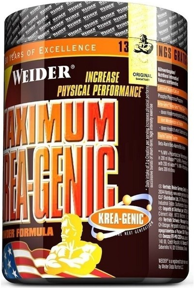 Weider Maximum Krea-Genic 554 gr