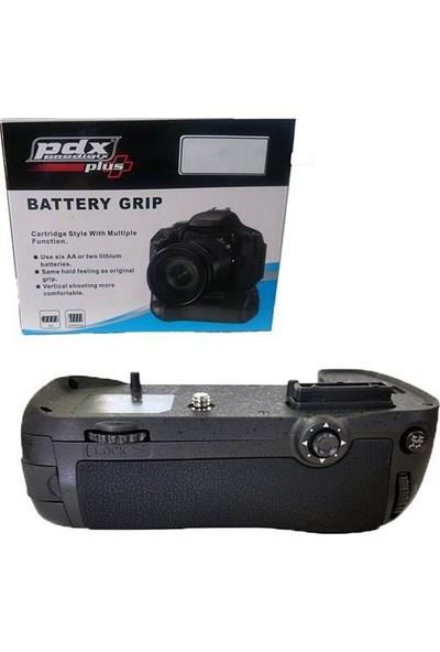 Pdx Nikon D810 Battery Grip Çift Pil Kullanma