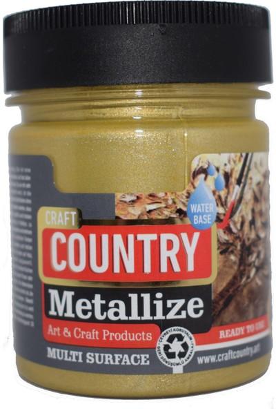 Craft Country Metallize Hobi Boyası 550 cc 5201 Altın