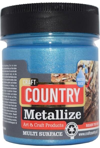 Craft Country Metallize Hobi Boyası 550 cc 5211 Mavi