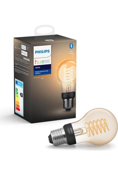 Philips HueW Filament Ampul A60 E27 Sarı Işık Bluetooth