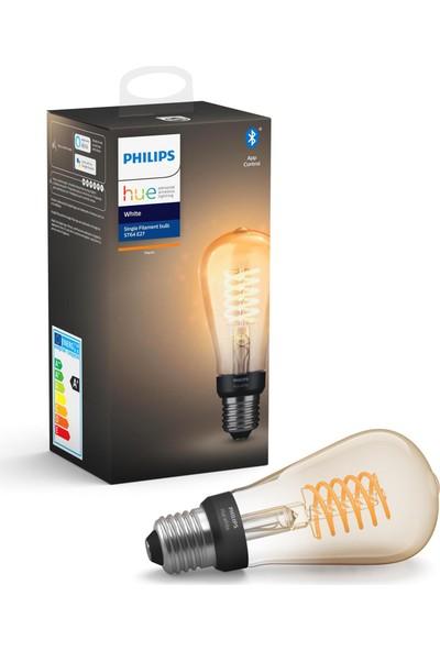 Philips HueW Filament Ampul ST64 E27 Sarı Işık Bluetooth