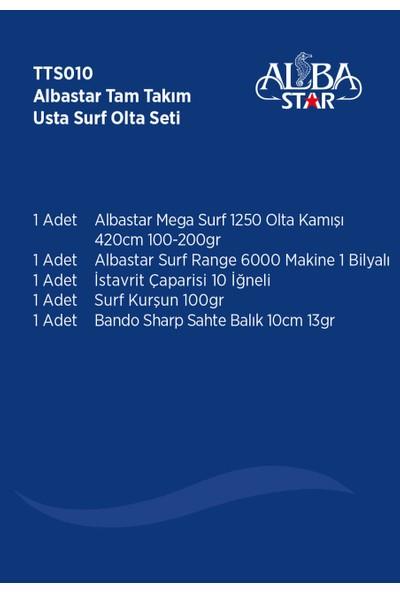 Albastar Tam Takım Surf Usta Olta Seti TTS010