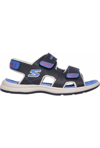 Skechers Sun Spurt Küçük Erkek Çocuk Lacivert Sandalet 97125N Nvbl