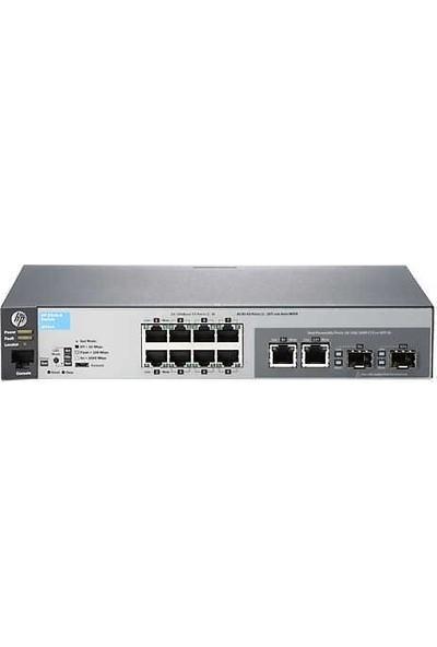 Hp J9783A Aruba 2530-8 10/100 8 Port + 2 Gigabit Sfp Yönetilebilir Switch