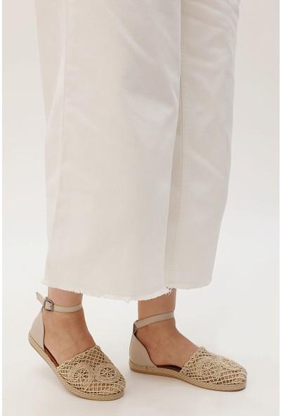 Marjin Kadın Bardet Düz Sandalet