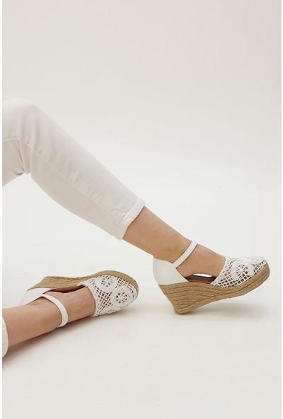 Marjin Kadın Veslen Dolgu Sandalet