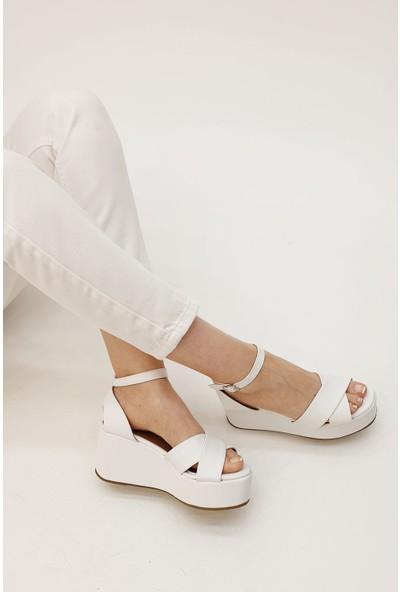 Marjin Kadın Golina Dolgu Sandalet