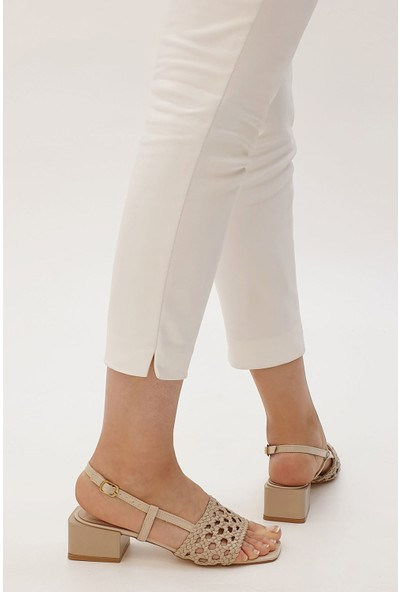 Marjin Kadın Torol Topuklu Sandalet