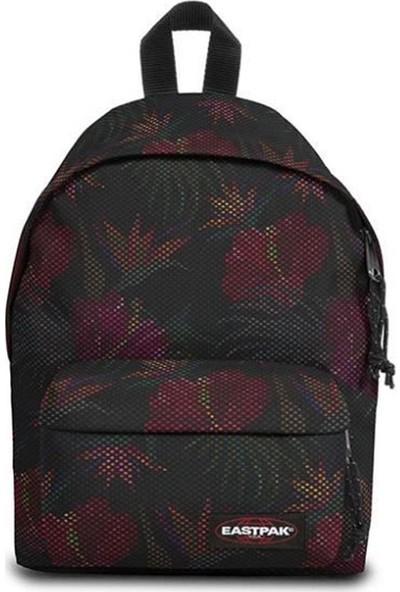 Eastpak Orbit Mesh Black Hibiscus Sırt Çantası