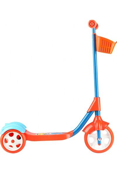 Erdem Oyuncak 3 Tekerlekli Frenli Sepetli Çocuk Scooter