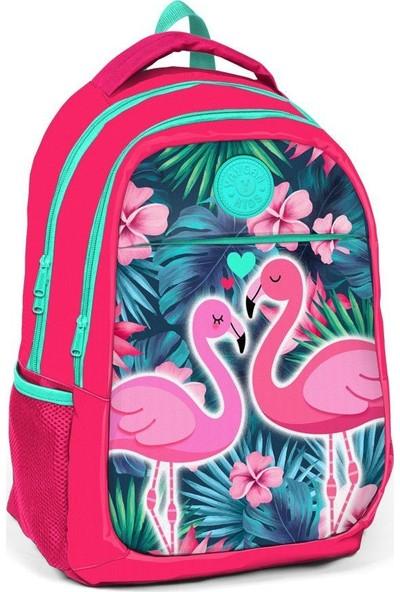 Öykü Flamingo Günlük Seyahat Okul Sırt Çantası
